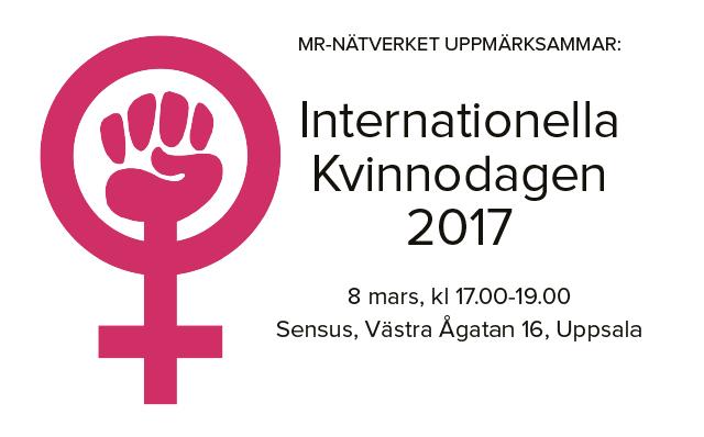 MR-nätverket – Internationella kvinnodagen – 8 mars