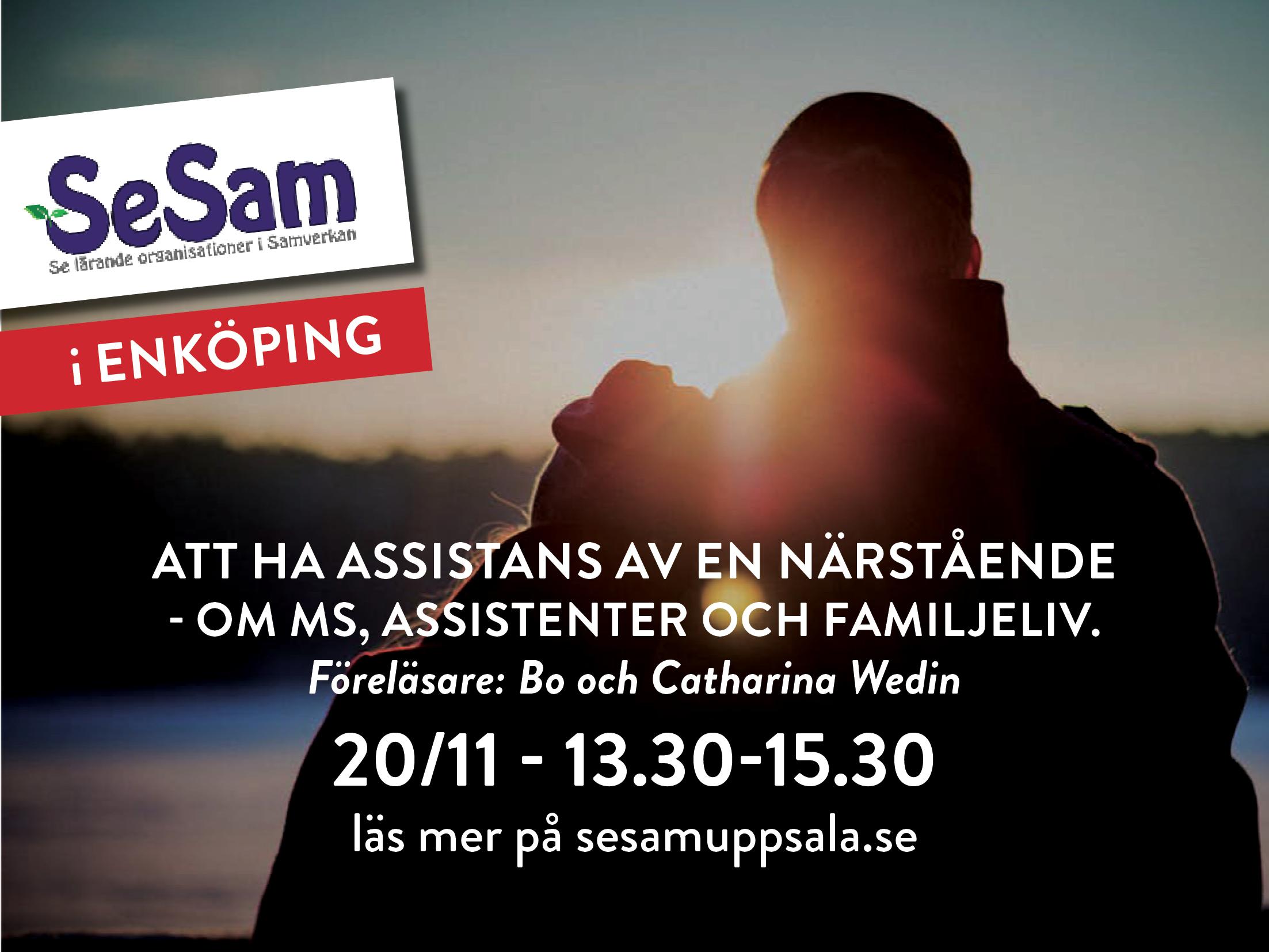 Enköping 20 november – Att ha assistans av en närstående