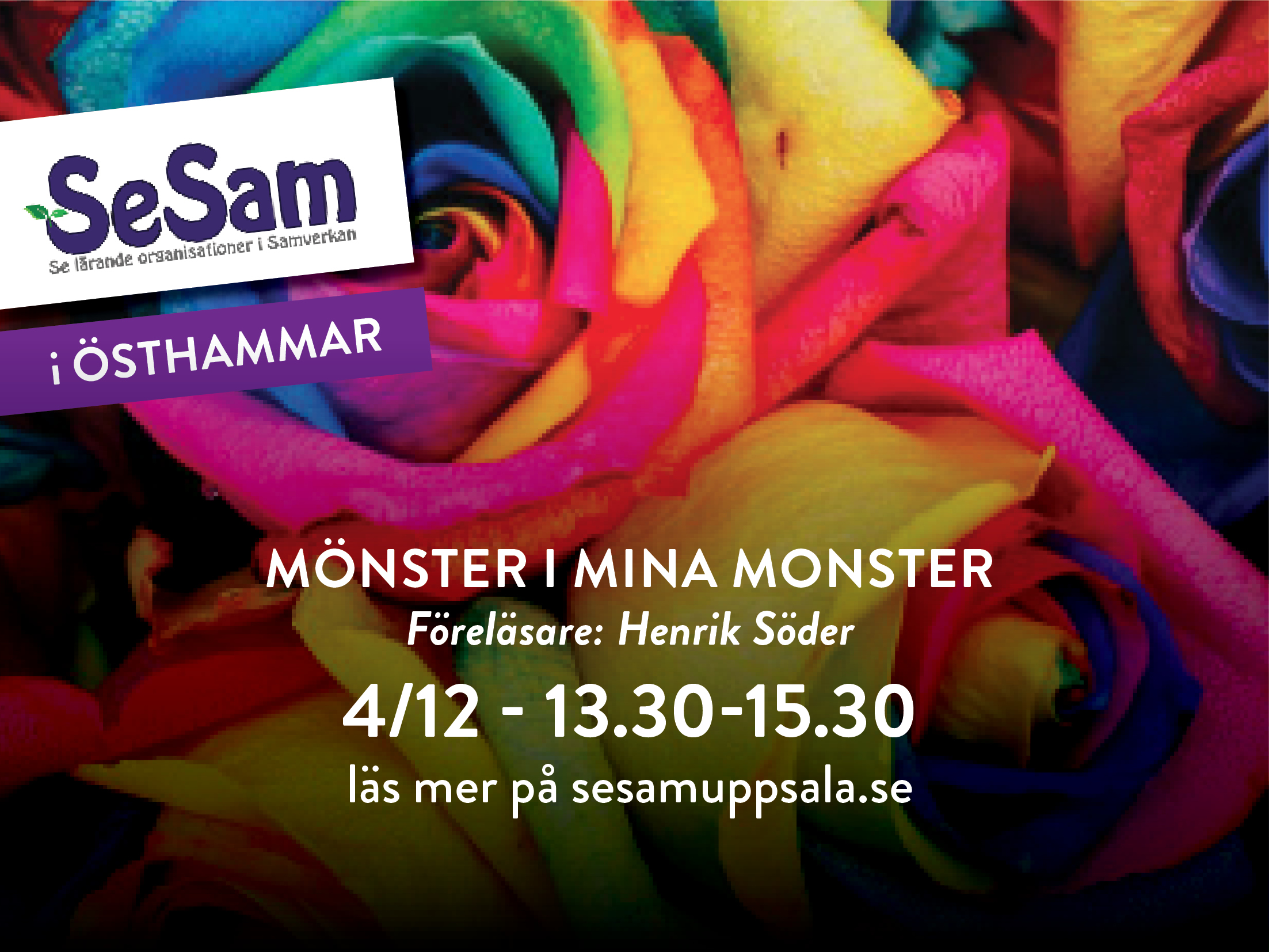 Östhammar 4 december – Mönster i mina monster