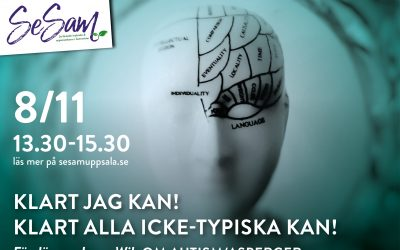 SeSamföreläsning 8/11 – Klart jag kan! Klart alla icke-typiska kan!