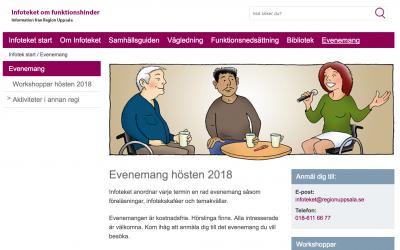 Infotekets evenemang hösten 2018