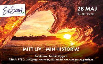 SeSam föreläsning – 28 maj – Mitt liv – min historia!